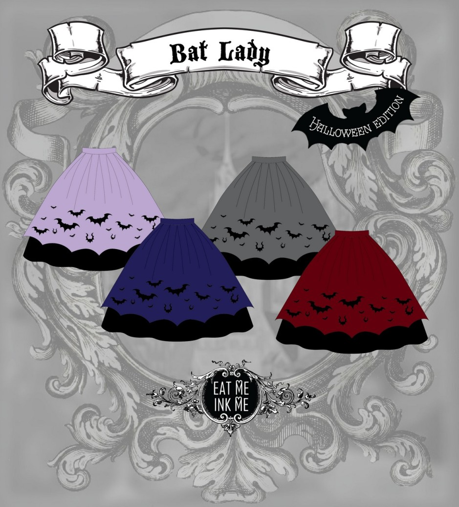 Bat Lady-skirt